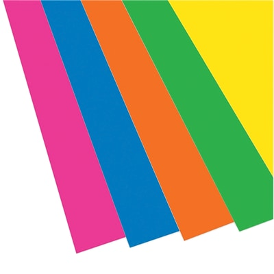 Flipside Foam Board, 20 x 30, Neon Assorted, 10/Pack (FLP2037610)