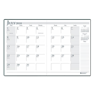 House of Doolittle Academic Monthly Planner, 14 Months