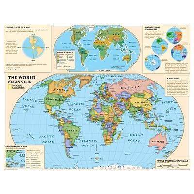 Beginners World Map Buy Online In Kuwait At Desertcart