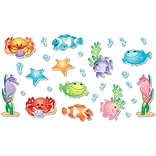 North Star Teacher Resources 7.5 Tall, Under the Sea Bulletin Board Accents, 136 Pack (NST3200)