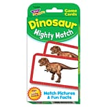 Trend Dinosaur Mighty Match Challenge Cards®, 56/pack (T-24021)