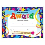 Trend Certificate of Award Colorful Classics Certificates, 30 CT (T-2951)