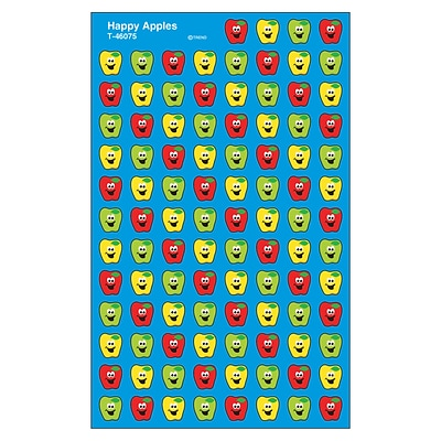 Trend Happy Apples superShapes Stickers, 800 CT (T-46075)