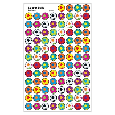 Trend Soccer Balls superSpots Stickers, 800 CT (T-46199)