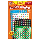 TREND® Buddy Brights superSpots® and superShapes Stickers Variety Pack, 2000/pkg (T-46930)
