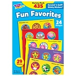 Trend Fun Favorites Stinky Stickers Variety Pack, 435 CT (T-6491)