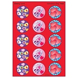 Trend Valentines Day - Cherry Stinky Stickers Large Round, 60 ct. (T-928)