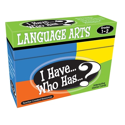 Teacher Created Resources I Have, Who Has Language Arts Game, Grades 1-2 (TCR7815)