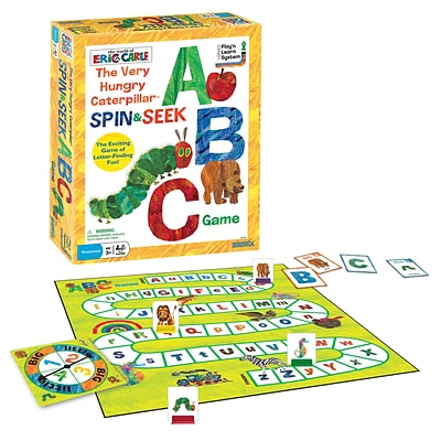 Brairpatch The Very Hungry Caterpillar Spin & Seek ABC Game (UG-01249)