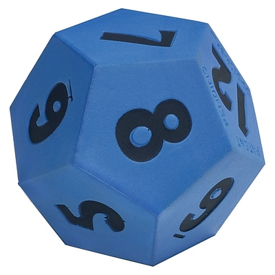 Learning Advantage™ Jumbo 12-Sided Demonstration Die Game