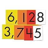 Essential Learning Products® 4-Value Whole Numbers Place Value Card Set, 4, 40 Cards (ELP626642)
