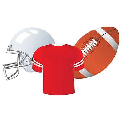 Eureka® Football Assorted Cut Outs