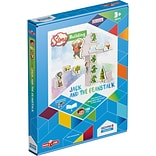 GeoMagWorld Magicube Story Building Jack & The Beanstalk Building Set, 136 pieces (GMW232)