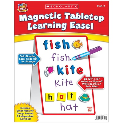 Scholastic Literacy Resources, Magnetic Table Top Learning Easel