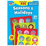 Trend Seasons & Holidays Stinky Stickers Variety Pack, 435 CT (T-580)