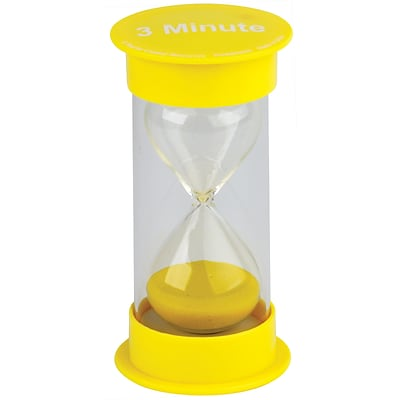 Teacher Created Resources 3 Minute Sand Timer, Medium (TCR20759)