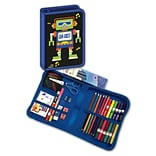 Blumberg Company Da Bot Robot Designed All-In-One School Supplies with Carrying Case, Grades K-4, 41