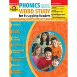 Phonics and Word Study for Struggling Readers Book for Grades 4-6 (EMC3361)