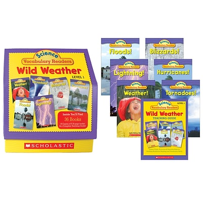 Scholastic Science Vocabulary Readers Wild Weather for Grades 1-3 (SC-0545015987)