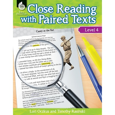 Close Reading with Paired Texts Level 4, Paperback (51360)
