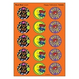 Trend Happy Halloween - Root beer Stinky Stickers Large Round, 60 ct. (T-83402)