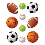 Teacher Created Resources 6 Accents, Sports Balls, 30/Pack