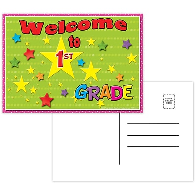 Top Notch Postcards, Welcome to 1st Grade