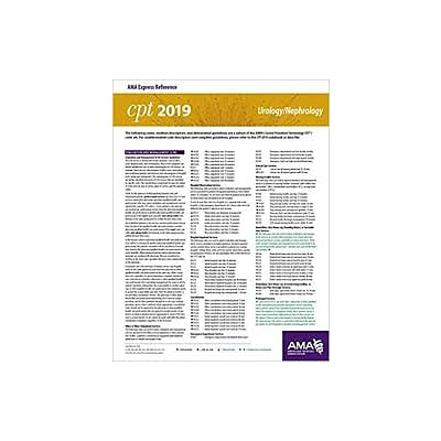 AMA ICD-10-CM 2019 Snapshot Coding Card, Dental/OMS