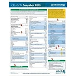 AMA ICD-10-CM 2019 Snapshot Coding Card, Ophthalmology