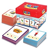 CVC Builders Activity Cards for Grades K-2, 48 Pack (JRL178)
