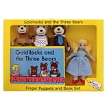 The Puppet Company, Traditional Story Sets Goldilocks and The Three Bears, 13.5 x 9.5, 5/set (PUC0