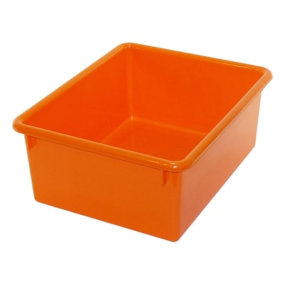 Romanoff Products Stowaway® Letter Box, Orange, 5  (ROM16109)
