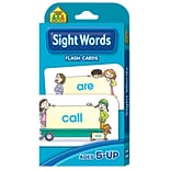 School Zone® Interactive® Sight Words Flash Cards, Word Recognition