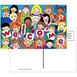Kids Welcome Postcards