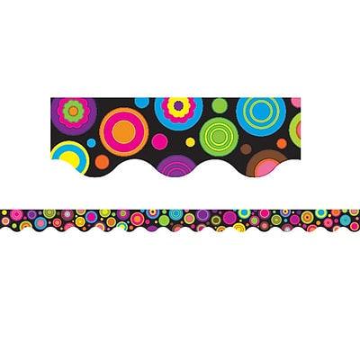 Teacher Created Resources® Colorful Circles Border Trim