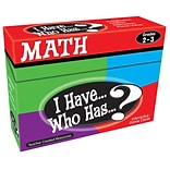 Teacher Created Resources I Have, Who Has Math Game, Grade 2-3 (TCR7818)