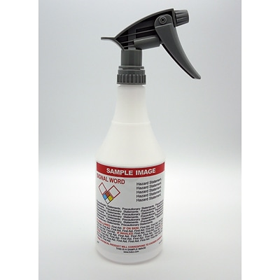 HCL 24 oz. Spray Bottle, Pre-Labeled Ethanol (GHSBOT0027)