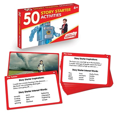 Language Arts Activity Cards, Story Starters (JRL354)