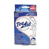 Southwes Technologies Inc Toe-Aid/ T-Shaped Dressing, 1¼ x 1¼ Gel Area, 3/Box (DR8450)