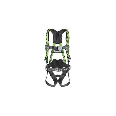 Honeywell Miller AirCore Steel Hardware Harnesses w/ Quick-Connect Chest & Leg Straps & Side D-Rings