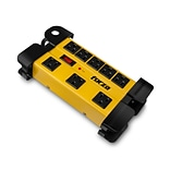 Forza Power Technologies 8-Outlet Heavy Duty Surge Protector, 2200W, Yellow, (FSP-808)