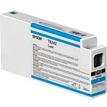 Epson T824 Cyan Ink Cartridge, High Yield