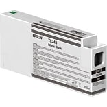 Epson T824 Black Matte Ink Cartridge, High Yield