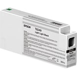 Epson T824 Light Light Black Ink Cartridge, High Yield