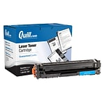 Quill Brand® Remanufactured HP 201X Cyan High Yield Laser Toner Cartridge  (QULF401X) (Lifetime Warr