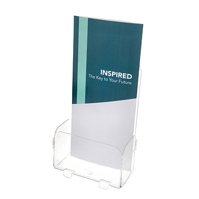 Deflect-O® Acrylic Literature Holders, Single Leaflet