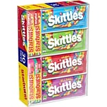 Skittles and Starburst Fruity Candy Variety Box, 30 Single Packs (WMW21938)