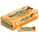 MILKY WAY Simply Caramel Milk Chocolate Candy Bars, 1.91 oz Bars,, Pack of 24 (225-00044)
