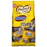 MARS Chocolate Peanut Lovers Fun Size Candy Bars Assorted Variety Mix Bag, 36.7 oz. 60 Pieces (225-0