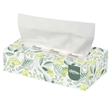 Kleenex® Naturals Flat Box Facial Tissue, 2-Ply, White, 125 Sheets/Box, 48 Boxes/Case